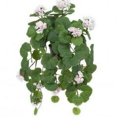 Hængepelargonie Pink - Kunstig potteplante