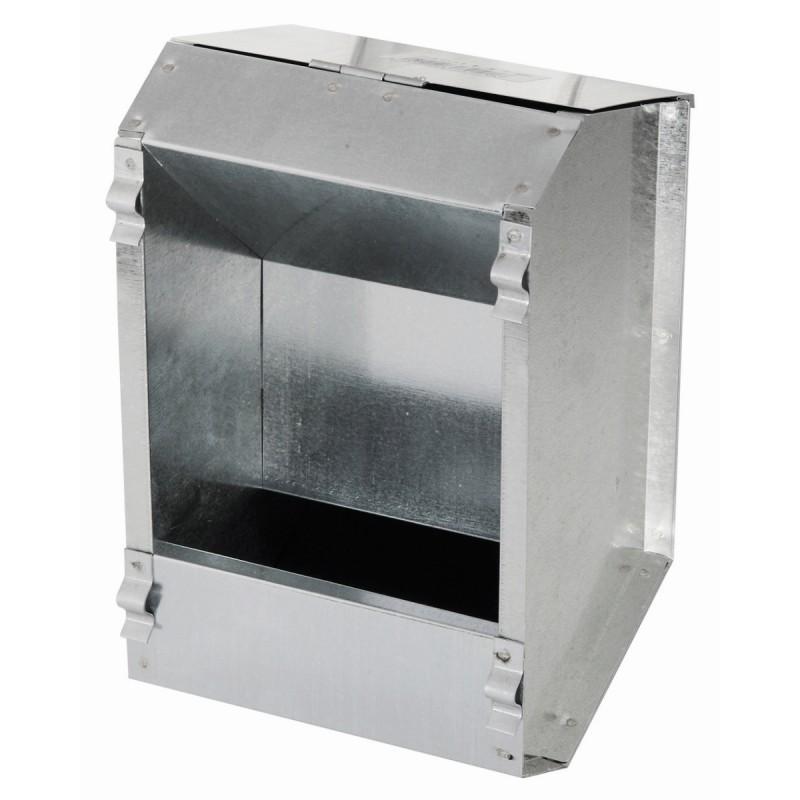 Foderautomat kanin - Galvaniseret 2200 ml