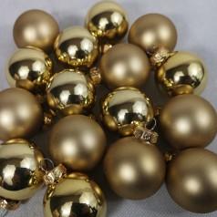 Dekorationskugler Guld - Til ophæng