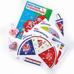 Babynisse kræmmerhuse & hjerter (9+4)