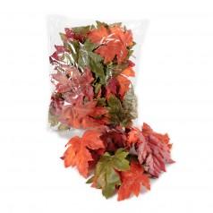 Efterårsblade Mix Farver - Kunstig 45 stk.