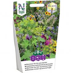 Blomsterfrø til bier og sommerfugle