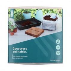 Komprimeret Kokosmuld - 10 Liter