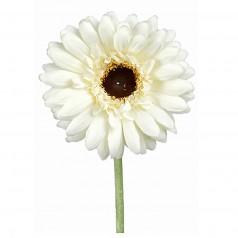 Kunstig gerbera stilk 55 cm. ø10 cm. hvid