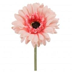 Kunstig gerbera stilk 55 cm. ø10 cm. rosa