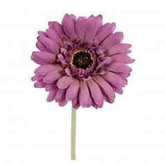 Kunstig gerbera stilk 55 cm. ø10 cm. lys lilla