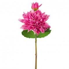 Kunstig dahlia stilk 70 cm. lilla