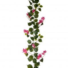 Kunstig Bougainvillea ranke 180 cm.