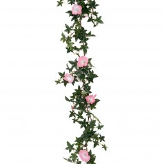 Kunstig Pragtsnerle / ipomea ranke 120 cm. rosa