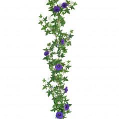 Kunstig Pragtsnerle / ipomea ranke 120 cm. blå