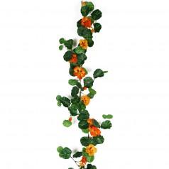 Kunstig blomsterkarse ranke 120 cm. orange