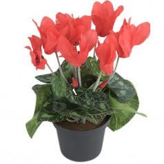 Alpeviol - Rød - Kunstige Potteplanter