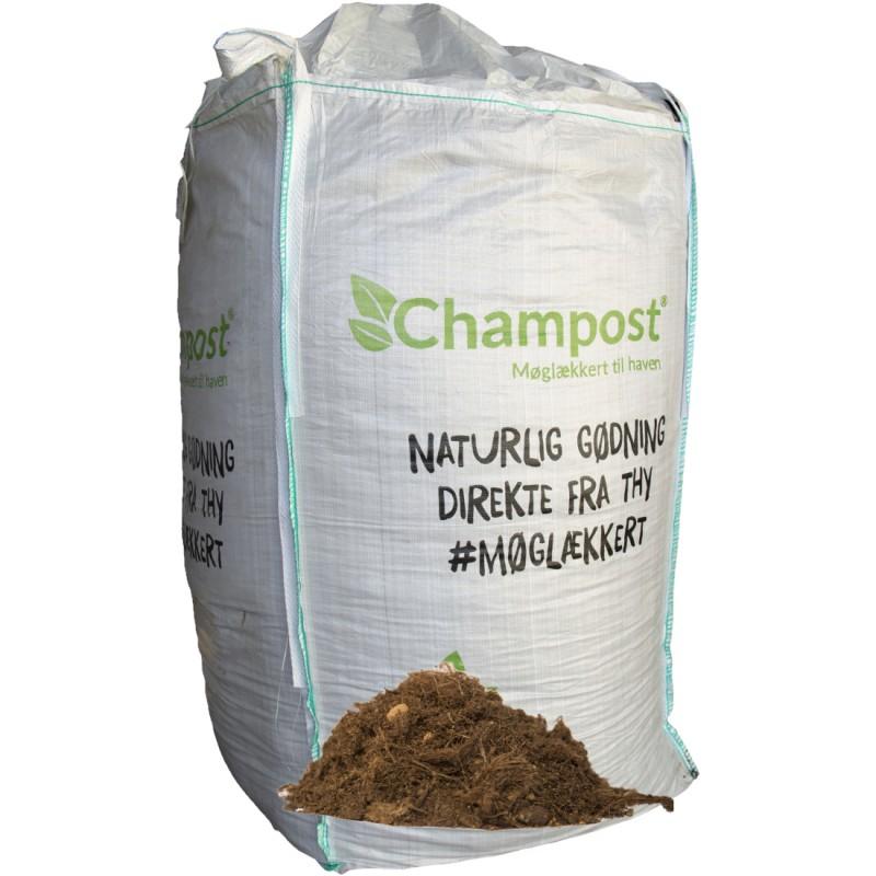 Champost Planteskolejord, 3000 Liter - Bigbag