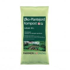 Økologisk Plantejord - 30 liter