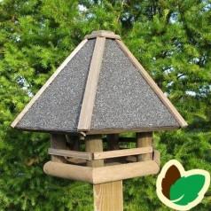Fuglefoderhus 6 kantet m. Tagpap