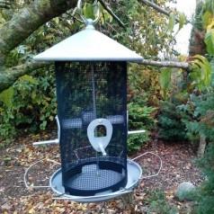 Fuglefoderautomat til vildfugleblanding 3 kg