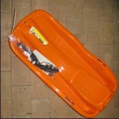 Bobslæde med bremser - Orange