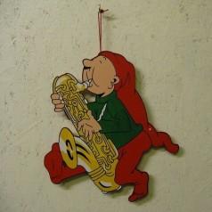 Kravlenisse Bramming med saxofon - Udendørs