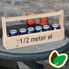 1/2 meter øl - Træ