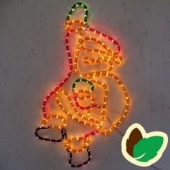 Julemand LED lysreb - Julemotiv - Julebelysning